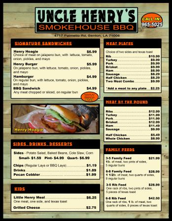 Uncle Henry's Smokehouse BBQ