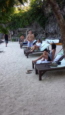 Padre Burgos Castle Resort: private beach