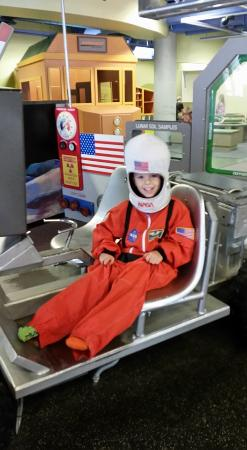 Lincoln Children's Museum: NASA unit with costumes