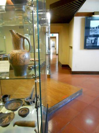 Museo Archeologico dell'Agro Falisco: Le sale del museo