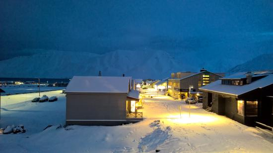 Svalbard Hotel: View from room