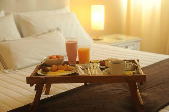 Hotel Stefano's: Desayuno a la Habitación