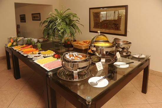 Hotel Stefano's: Desayuno Buffet