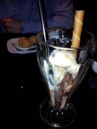 Chocolate Brownie Ice Cream And Salted Caramel Ice Cream