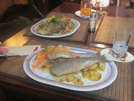 Gasthaus Zum Enddorn: Fisch mit Bratkartoffeln