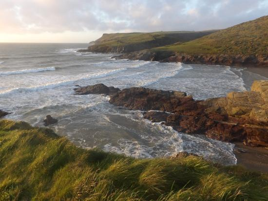 Trebetherick, UK: Pentire Point in the distance