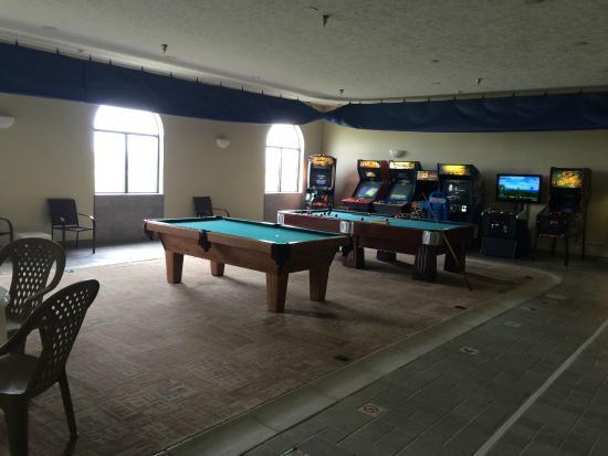 Percival, IA: Pool Room