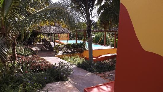 Santa Elena, Μεξικό: Pool area
