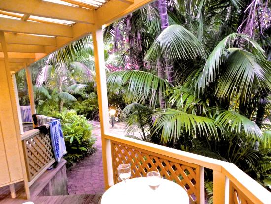 Blue Lagoon Lodge: Handy deck for afternoon drinks
