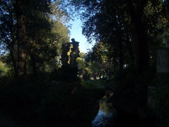 panorama di Firenze dalla terrazza del giardino - Picture of ...
