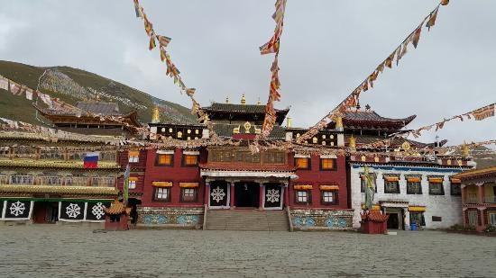 Tagong Temple (Lhagang Monastery): 塔公寺