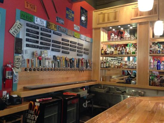 Milepost 111 Brewing Company: Bar