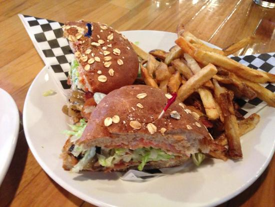 Milepost 111 Brewing Company: Burger