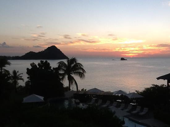 Cap Estate, Sta. Lucía: Another perfect sunset