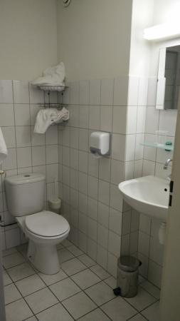 Hotel Het Witte Paard: Klein badkamer