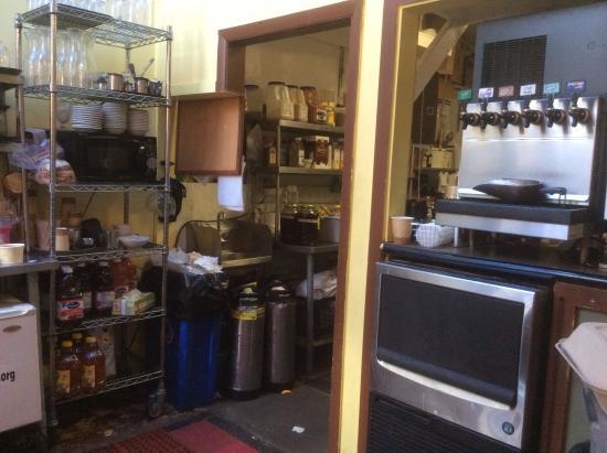 Hudson Street Cafe : Kitchen