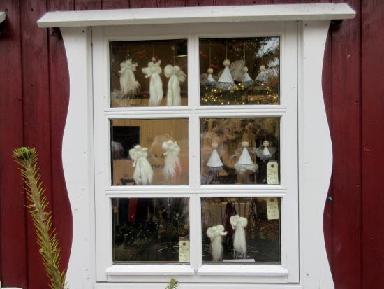 Hoejer, الدنمارك: Hanne's jule-bod på torvet i Tønder