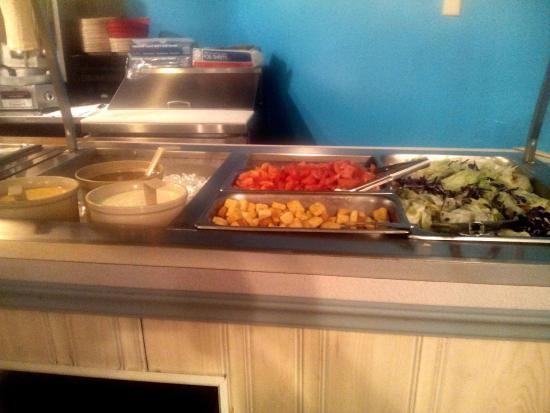 Bellevue, Νεμπράσκα: Salad Bar