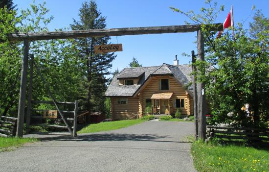 108 Mile Ranch, Canada: Entrance