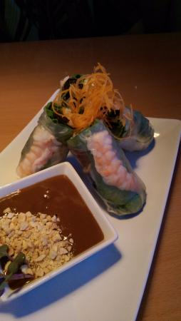 Oaki Steakhouse: SPRING ROLLS