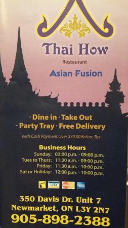 Thai How Restaurant