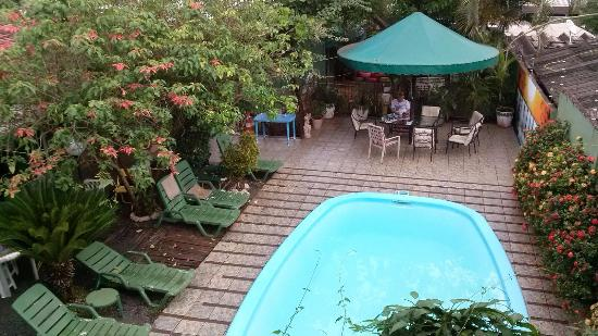 Green House Hostel: Pool area