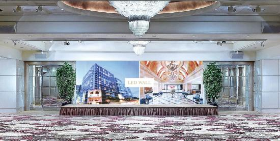 The Langham, Hong Kong: New Ballroom - LED backdrop