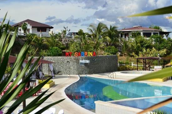 The Tuna Shaped Swimming Pool Picture Of Mt Sabrina Panoramic View Resort General Santos