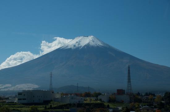 ペンション アロマハーブ ル ラゴンから見た富士山 - Picture of Mount Fuji, Chubu - TripAdvisor
