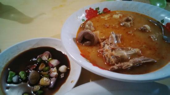 Nasi Putih - Picture of Sate Kambing M. Hadori, Bandung ...