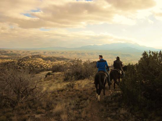 Cerrillos, NM: on the trail