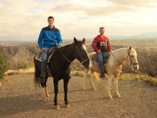 Cerrillos, NM: overlook