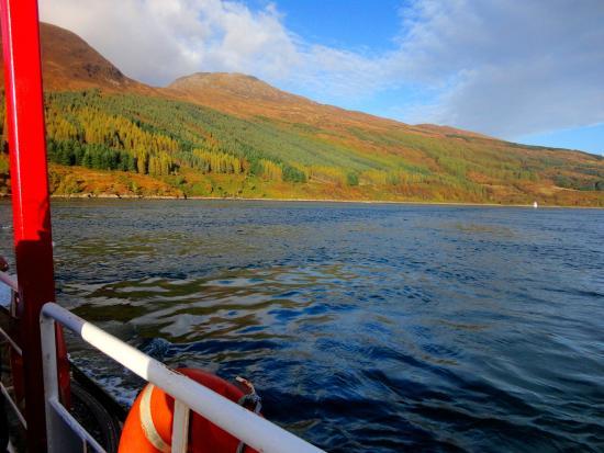 Glenelg, UK: Leaving Isle of Skye