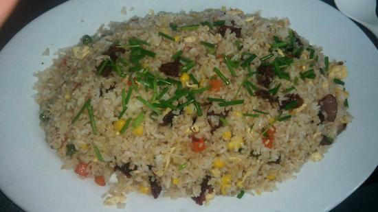 Fried Rice meal from Elena\'s Kitchen at Townhouse Hotel / Hostel ...