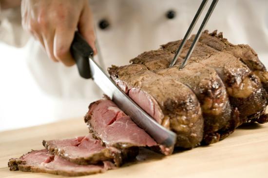 Montereys Restaurant: Roast Lamb Cavery