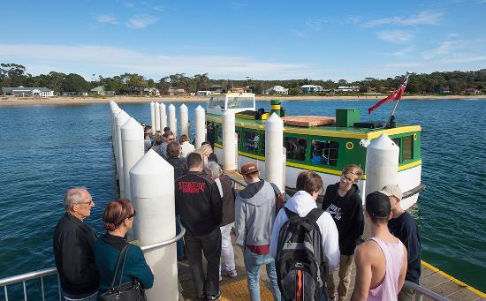 Sutherland Shire, Australia: Bundeena Ferry Wharf