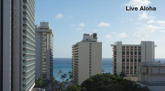 Ohana Waikiki West: Ocean view from Hotel room