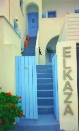 Elkaza Villas: villa's entrance