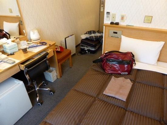 Yokkaichi Urban  Hotel : 部屋の様子