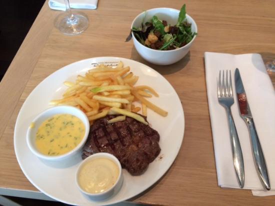 Dauphine: Ribeye steak