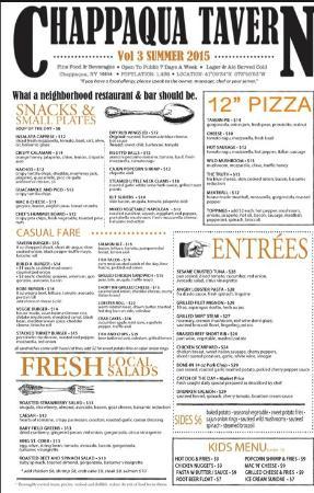 แชปปากัว, นิวยอร์ก: Just one edition of our always seasonal menus!