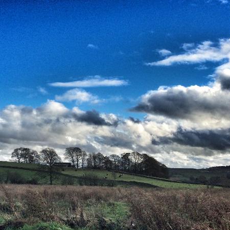 Longnor, UK: The excellent view!!