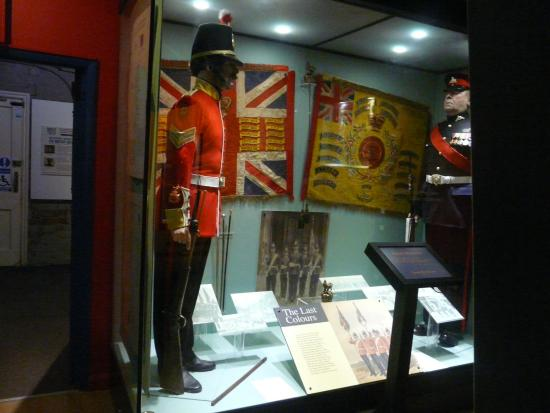 Museum of Lincolnshire Life: Battle honours of the Royal Lincolnshire Regiment