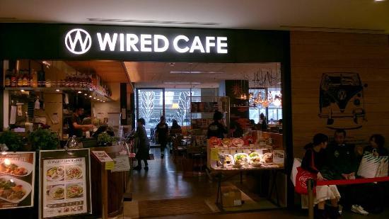 Wired cafe Lucua Osaka