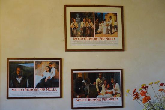 Vignamaggio: Кадры из фильма, снятого на этой вилле
