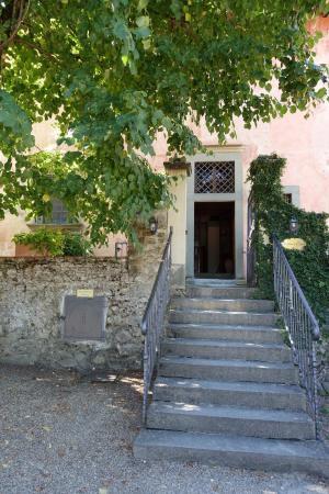 Vignamaggio: вход в корпус