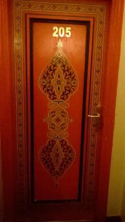 Hotel Astrid: Porta di una delle camere