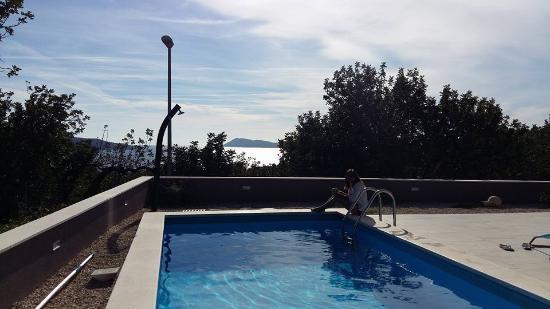 Comisa, Croatie : Pool Villa Periska Komiza