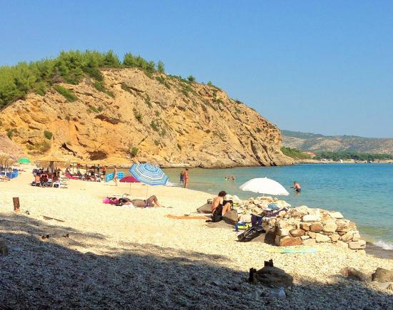 Metalia Beach, Limenaria, Thasos - Picture of Metalia ...