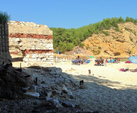 Metalia Beach, Limenaria, Thasos - Picture of Metalia ...